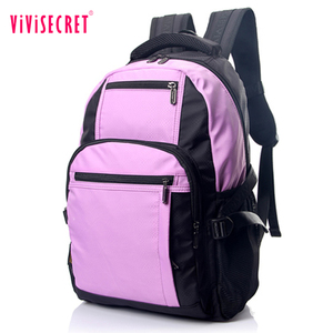 OEM nylon square waterproof and lightweight sport day backpack anti-theft laptop backpack for teens