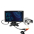 How selling black frame widescreen 2 bnc inputs 960p ahd monitor cctv ips 9 inch with SD card slot