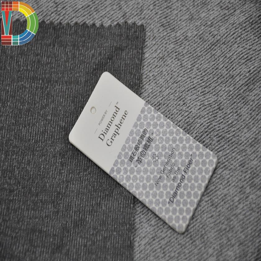 2018 far infrared thermal underwear fabric smart fabrics for underwear