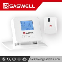 New hot sales digital wireless heating thermostat with blue backlight
