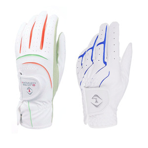 EVERIO GOLF golf left handed breathable protect custom colored golf gloves cabretta leather