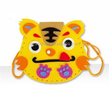 Kids Handicrafts Diy Eva Bag Making Buy Handmade Fabric Bags Diy