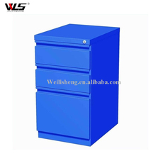 Boss modern director office table design under desk 3 drawer metal mobile file storage cabinet