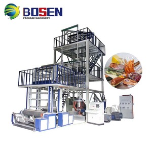 BEST PRICE HIGH SPEED HDPE LDPE PE MINI AGRICULTURE PLASTIC SHRINK AUTOMATIC ABA BLOWN FILM MACHINE FILM BLOWING MACHINE