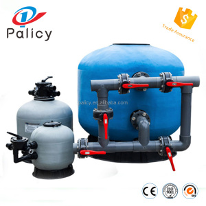 Side -mount sand filter with multiport valve/house sand filter/swimming pool filter water