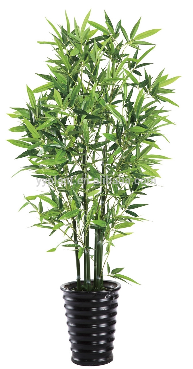 2015 new style bambou artificielle plantes haute for Plante interieur bambou