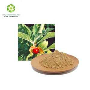 100% Natural Withania Ashwagandha Extract Powder,withanolides 1.5%, 2.5%. 4%