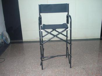 Tall Folding Make Up Artist Directors Chair