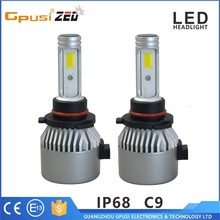 China Auto Parts Imported Car Headlight 9005 COB LED Headlight For Used Cars