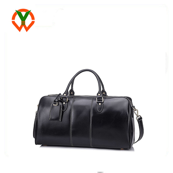 Mens Leather Travel Overnight Gym Sports Weekender Tote Duffle Bags Bag Whole Waterproof Custom High Quality