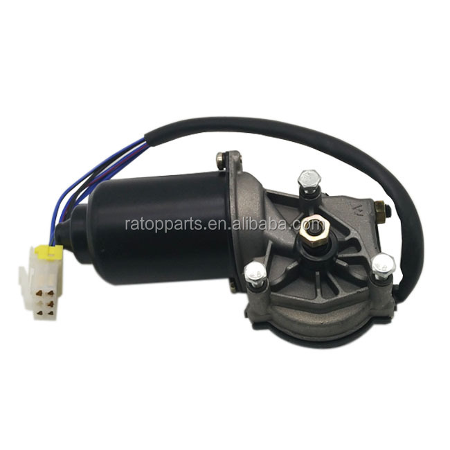 Hot sale EC55 excavator electric parts wiper motor assembly,small wiper motor