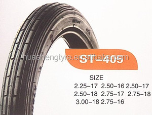 Top Brand Motorcycle Tire 3.00-18 3.00-17 2.75-18 2.75-17 In High Quality for USA