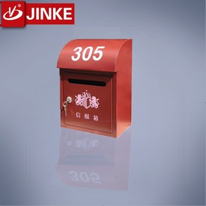 Wall Mounted Cast Iron Letterbox Metal individual designer Post Box Mail Box
