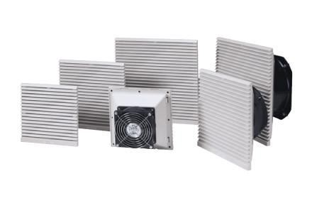 Dust Proof Filter Cooling Fan And Air Filter For Control Cabinet ...