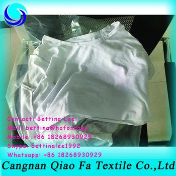 Soft Materials White Second Hand T Shirt Cotton Rags Wool Thread ...