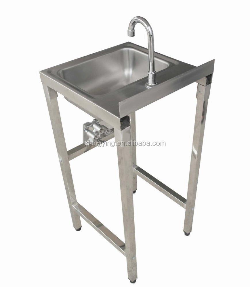 נפלאות אישור NSF הברך נירוסטה יד דוושת לשטוף כיור/כיור יד-כיורי מטבח-מספר SR-85