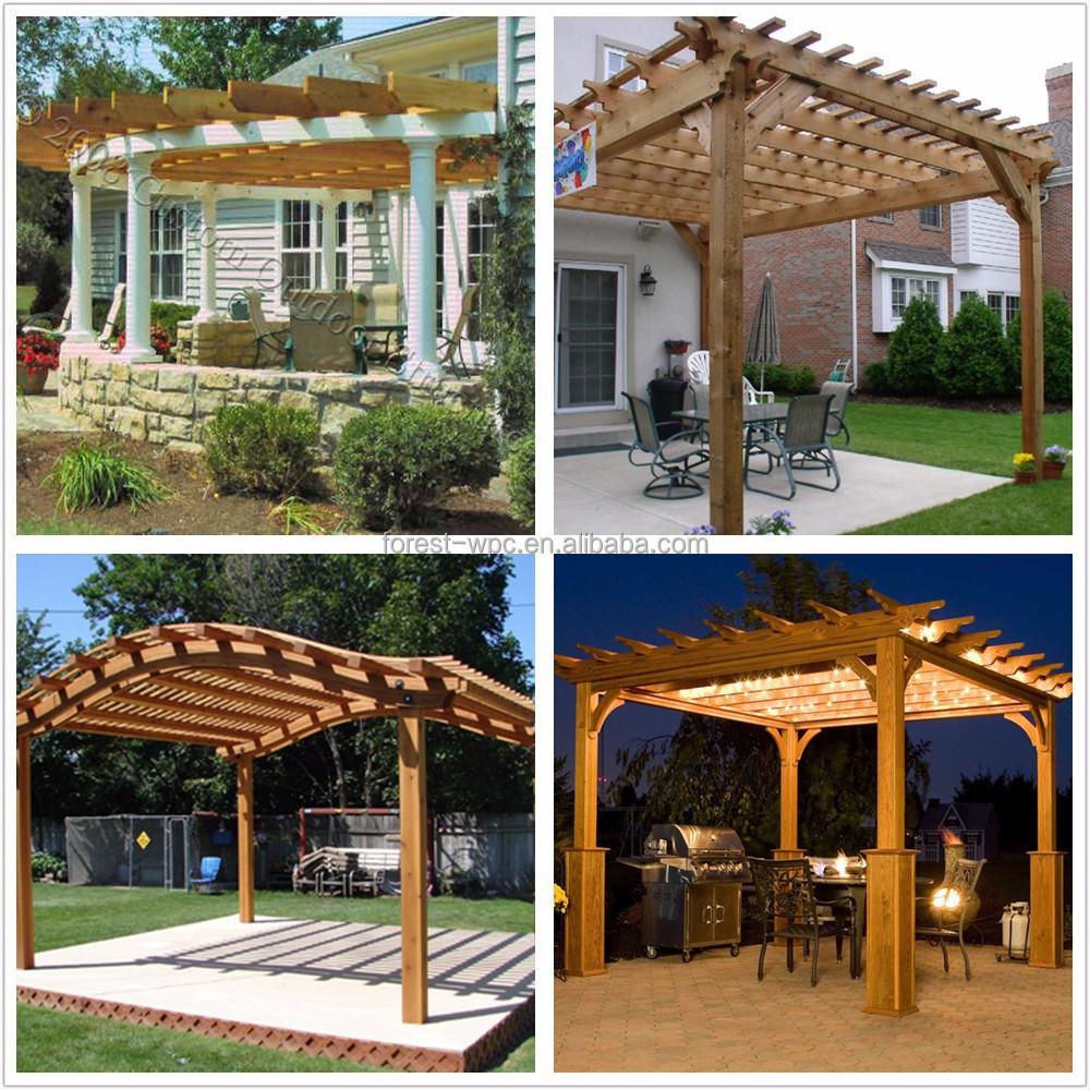 Hogar p rgola verano casa casas prefabricadas casas arcos - Pergolas prefabricadas ...