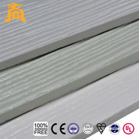 Wood grain fiber cement hardie board siding