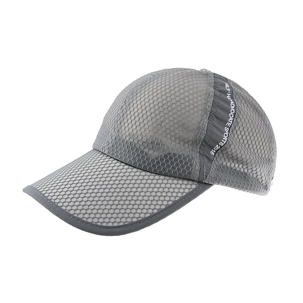 Get Quotations · Womens Mens Quick Drying Mesh Baseball Cap Summer Cool  Breathable Lightweight Anti UV Sun Protection Hat b0d0e31d1a3b