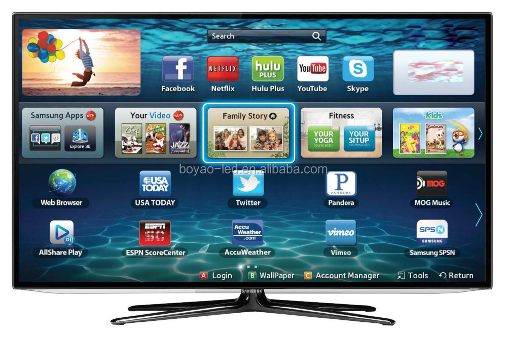 Promotion Smart LED Television 80 inch tv price