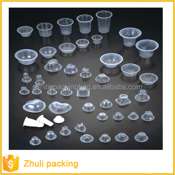 Takeaway Food Grade Custom PP Transparent Clear Disposable Plastic Food Container With Lid