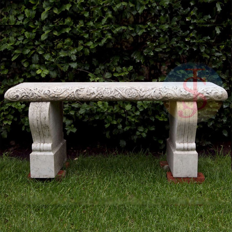 Hot Selling Curved Stone Garden Benches Buy Curved Stone