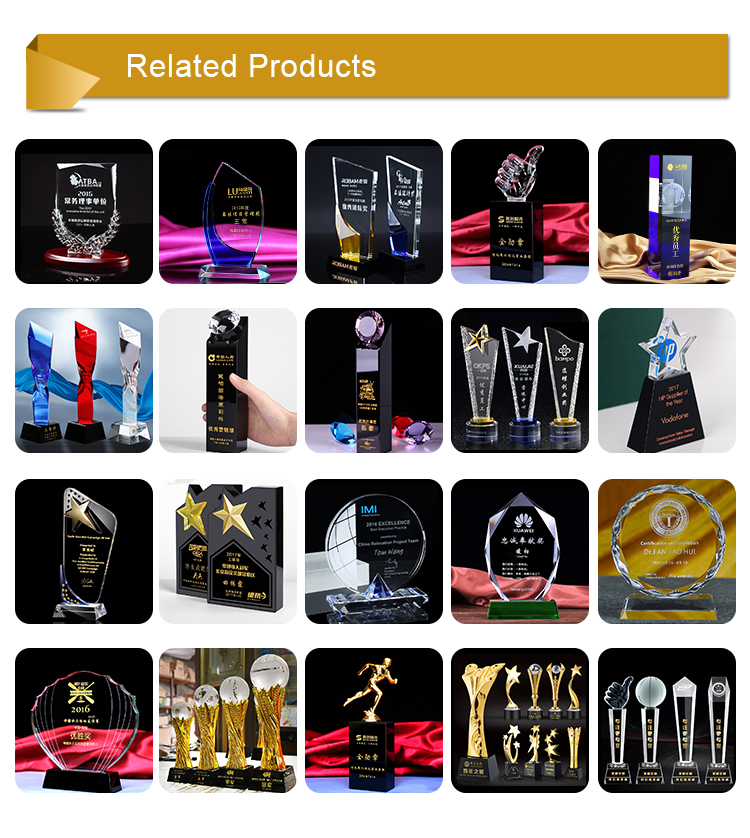 Wholesale Cheap 3d Laser Engraved Plated Polished Crystal Cube Trophy Crystal Cube Trophy
