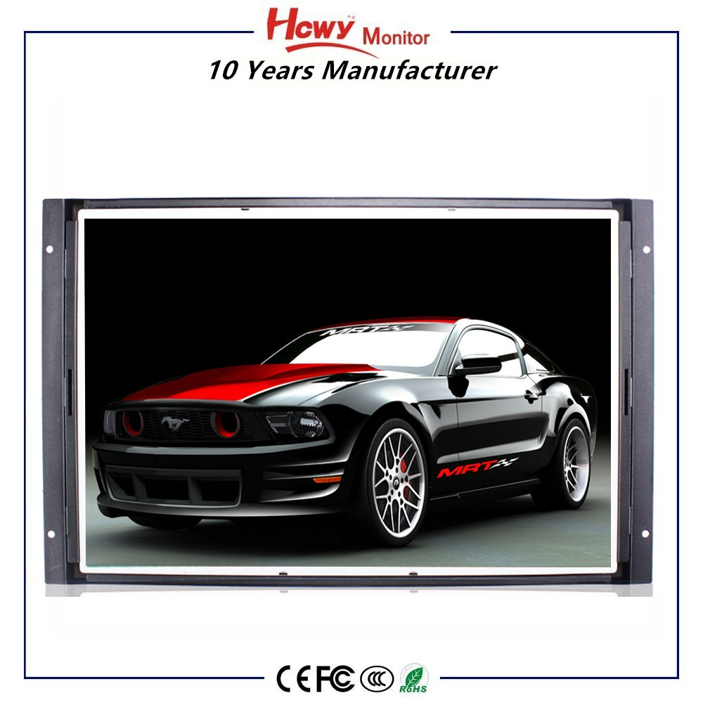 IR Touch Screen Frame 22 inch Open Frame Touch Screen LCD Monitor With Good Brightness 450cd/m