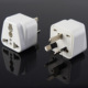 Free Sample 1 years warranty electrical adapter multiple socket 3 pin plug and socket