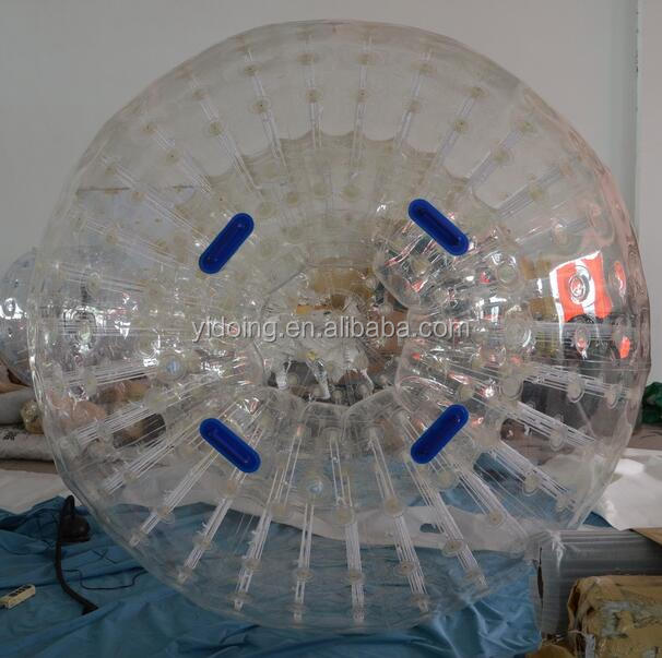 China Reliable TPU Human Hamster Balls, Customized Zorb Balls