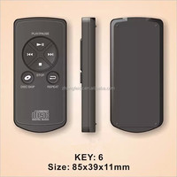1-21 keys small size remote controller for disc digital audio