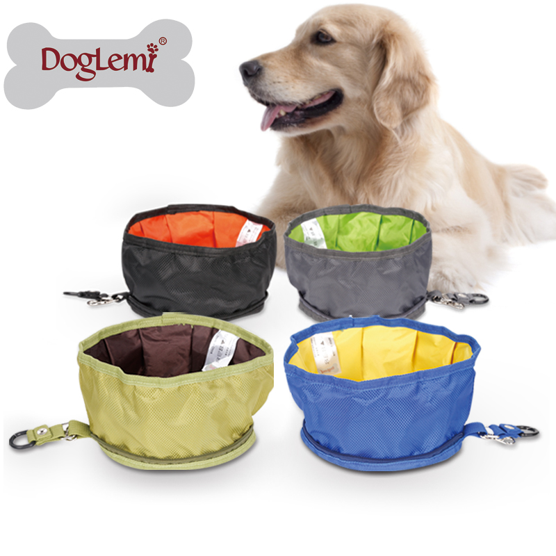 Travel Outdoor Portable Pet <strong>Dog</strong> Water <strong>Bowl</strong> Waterproof Collapsible <strong>Dog</strong> <strong>Bowl</strong>