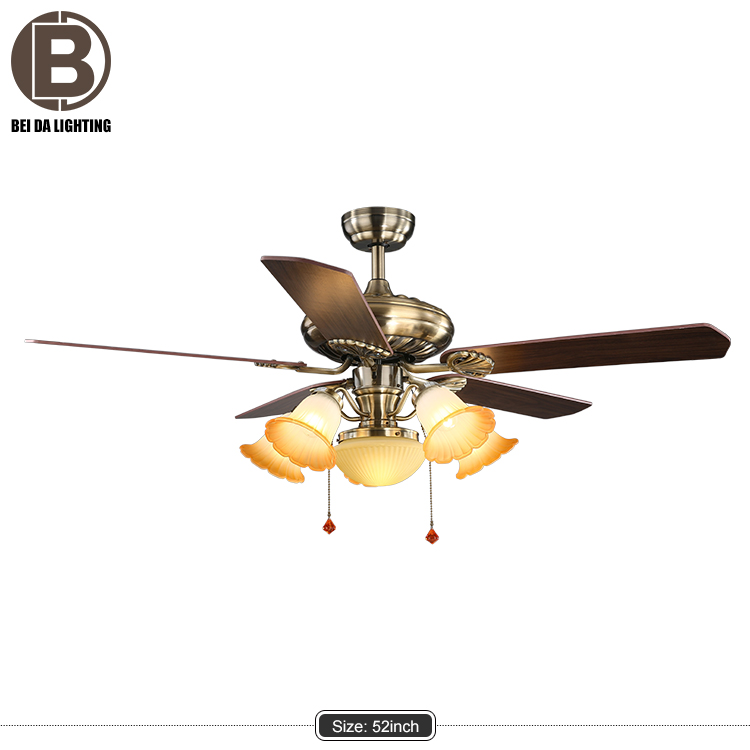 LED 24W,LED Light Source and Ceiling Fans Item Type Chinese Ceiling fans 52 inches