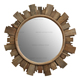 Rustic Recycled Wood design Recycled north pine 80*4*80cm decorative wall mirror