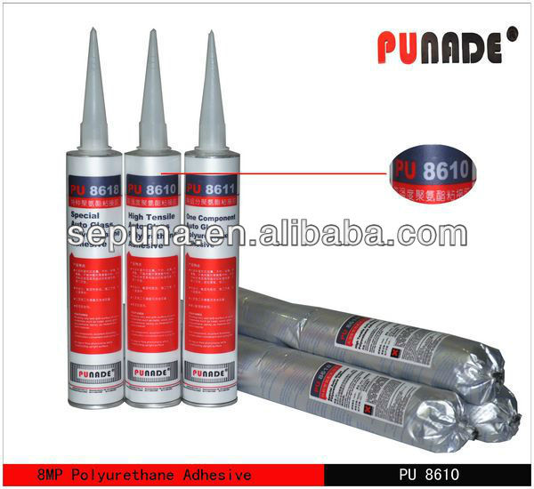 Best autoglass polyurethane auto glass seal /adhesive glue for glass