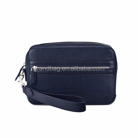 43b0782667cf Hot sell waterproof cosmetic bag for men toiletry bag saffiano leather  travel wash bag