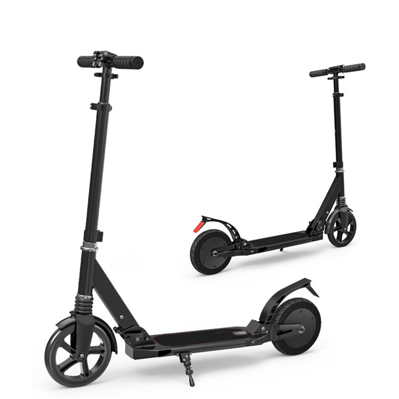Carbon fiber light two wheel 2 wheel smart kick <strong>electric</strong> scooter