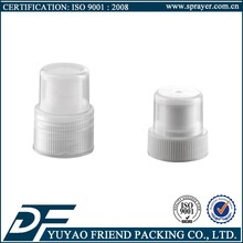 transparent pp 28mm plastic push pull sports water bottle caps with dust cover