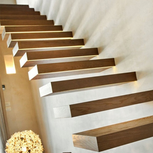 Staircase In Wood Box Tread Movable Stairs Floating Staircase Cost