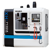Chinese top supplier XH7132A efficient tapping milling cnc vertical machining center price