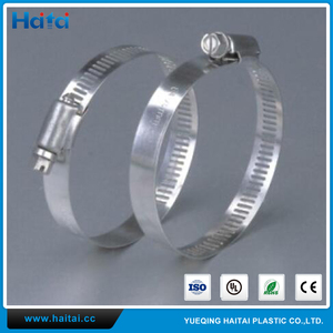 Haitai American Type Hose Clip/Hose Clamp/Stainless Steel Clamp