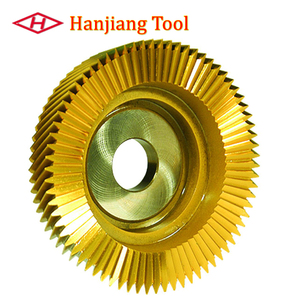 Helical tooth HSS deep counterbore Type Gear Shaper Cutter Tool