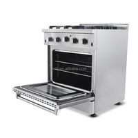 Electric oven 110V 4 Burner Cooker Range Top Stove