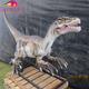 KANO2646 Amusement Decorative Custom Professional Animatronic Dinosaur Life-Sized Raptor For Sell