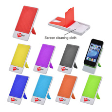 Best sale favorable price travel plastic oblong shaped folding silicone skid resistance cellphone lazy phone holder