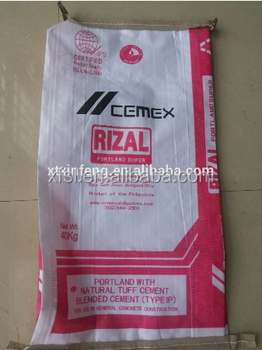 Plastic Bags For Cement Packing/pp Ad Star Bag 50kg/25kg Cement ...