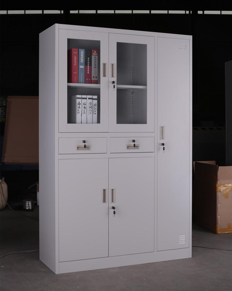 Wooden almirah design metal book cabinet living room for Wooden almirah designs for living room