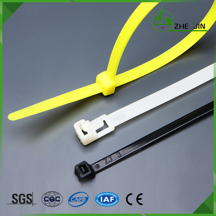 Zhe Jin China Decorating Christmas Tree Self-locking Nylon 66 Cable Tie