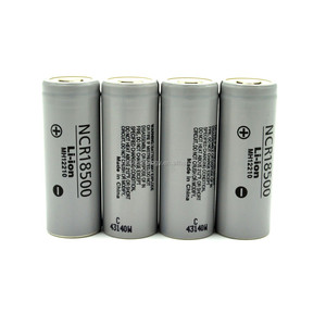 High Capacity Ncr18500 3.6v 2000mAh Cylindrical Type Lithium-ion Battery 2000mah rechargeable Battery NCR18500 1880mAh battery