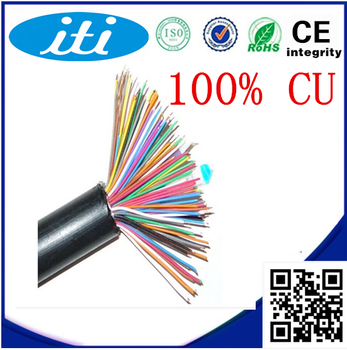 Factory Price 1000ft Solid 99.99% Copper 50pair Cat5e Telephone Cable Communication Cable